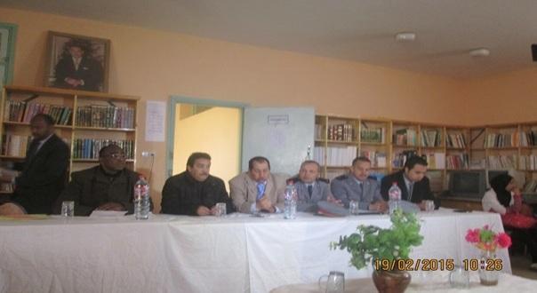 Lycee sidi Saleh Tagounite -1