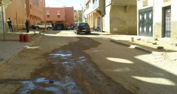 اقصاء حي المسيرة الخضراء بمدينة زاكورة من التأهيل الحضري