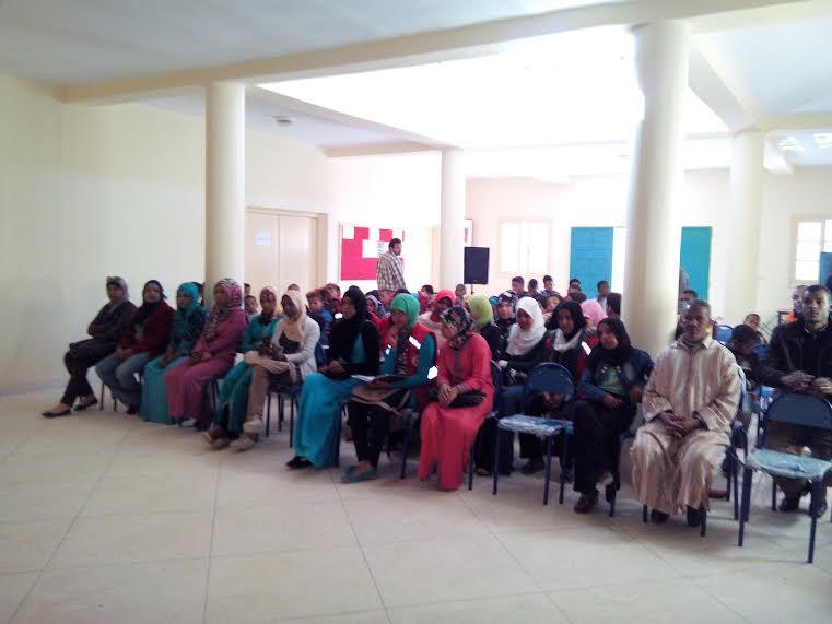 احتفال الاتحاد الجمعوي للتنمية والتضامن اولاد يحيى باليوم الوطني للمجتمع المدني -2