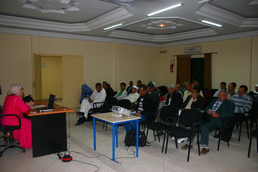 احتفال المندوبية الاقليمية للتعاون الوطني بزاكورة  بالذكرى الأولى لليوم الوطني  للمجتمع المدني-1