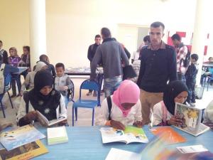 الاتحاد الجمعوي للتنمية و التضامن أولاد يحي ينظم قافلة القراءة-1