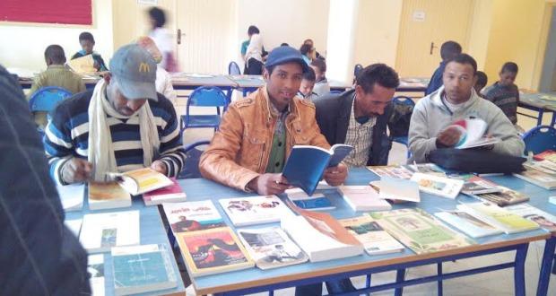 الاتحاد الجمعوي للتنمية و التضامن أولاد يحي ينظم قافلة القراءة-3