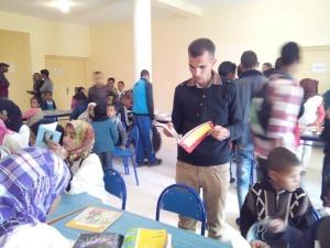 الاتحاد الجمعوي للتنمية و التضامن أولاد يحي ينظم قافلة القراءة