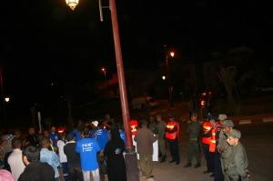 الجمعية المغربية لحقوق الإنسان بزاكورة تنظم وقفة احتجاجية إمام عمالة زاكورة-4