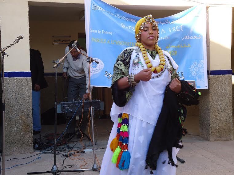 الفرع الجهوي لمنظمة فضاءات الابداع والتنمية ارفود يحتفي باليوم العالمي للمرأة