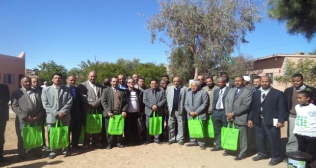 الملتقى الأول للمدارس المنخرطة في برنامج المدارس الإيكولوجية بزاكورة