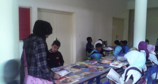 جمعية التربية و التكوين بزاكورة تنظم قافلة القراءة للجميع-5