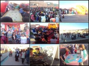 جمعية الوفاق للتنشيط التربوي تختتم قافلة التنشيط التربوي ببلدية أكدز