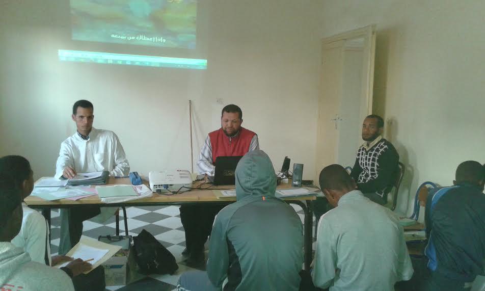 جمعية قصر بني صبيح للبيئة والتنمية تنظم دورة التفوق الدراسي