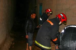 حريق منزل بحي تنسيطة انشاشدة بزاكورة-3