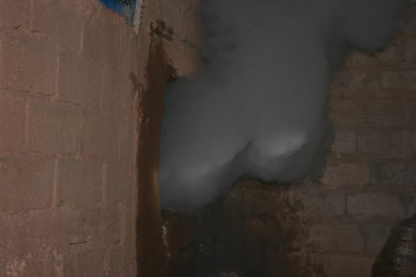 حريق منزل بحي تنسيطة انشاشدة بزاكورة-5