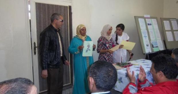 حفل بمناسبة اليوم العالمي للمرأة بثانوية عبد الرحيم بوعبيد الإعدادية بورزازات-3