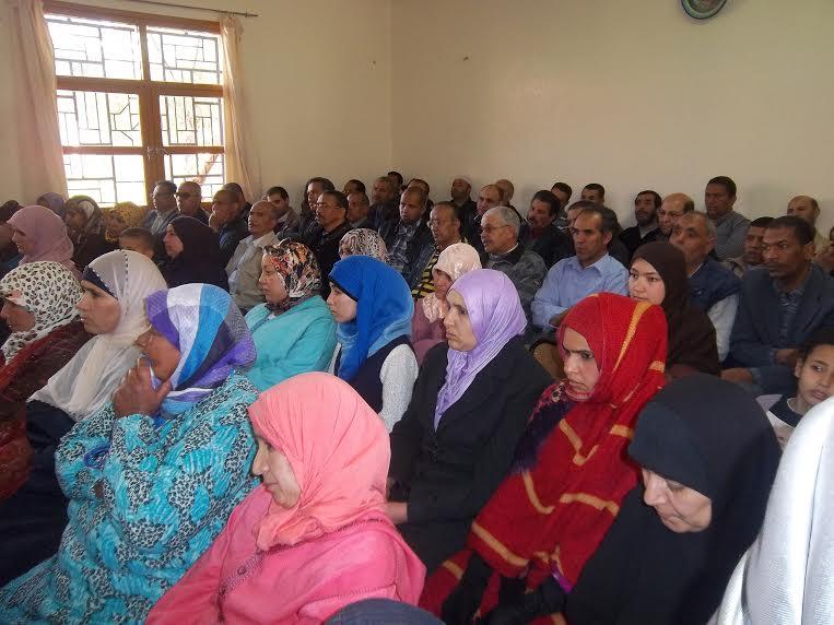 حفل بمناسبة اليوم العالمي للمرأة بثانوية عبد الرحيم بوعبيد الإعدادية بورزازات- 4
