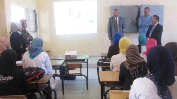 ما يناهز 150 تلميذ يستفيدون من مبادرة الحصول على البطاقات الوطنية داخل المؤسسات التعليمية بالمجال الحضري لمدينة زاكورة -2
