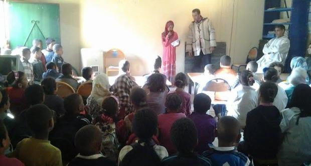 مجموعة مدارس بني علي تخلد اليوم العالمي للشعر و اليوم العالمي للأم -1