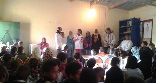 مجموعة مدارس بني علي تخلد اليوم العالمي للشعر و اليوم العالمي للأم
