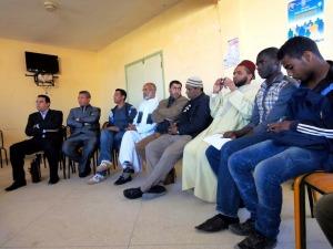 نادي الادب بثانوية أولاد يحيى لكراير التأهيلية يخلد اليوم العالمي للشعر -2