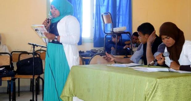 نادي الادب بثانوية أولاد يحيى لكراير التأهيلية يخلد اليوم العالمي للشعر -3