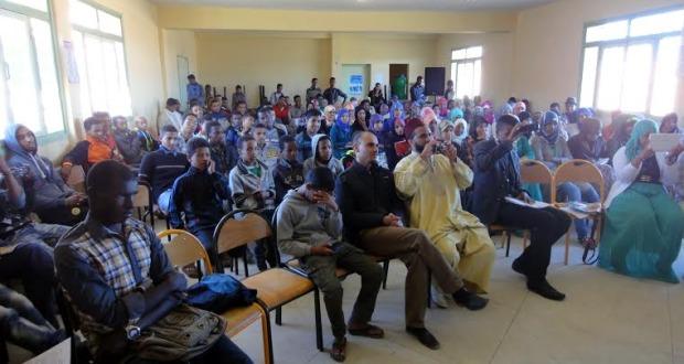 نادي الادب بثانوية أولاد يحيى لكراير التأهيلية يخلد اليوم العالمي للشعر-5