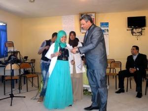 نادي الادب بثانوية أولاد يحيى لكراير التأهيلية يخلد اليوم العالمي للشعر -7