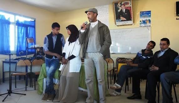 نادي الادب بثانوية أولاد يحيى لكراير التأهيلية يخلد اليوم العالمي للشعر-8