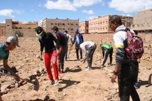 123متطوع يشاركون في تنظيف مقابر زاوية البركة-3