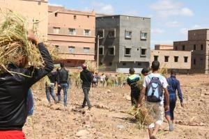 123متطوع يشاركون في تنظيف مقابر زاوية البركة- 5