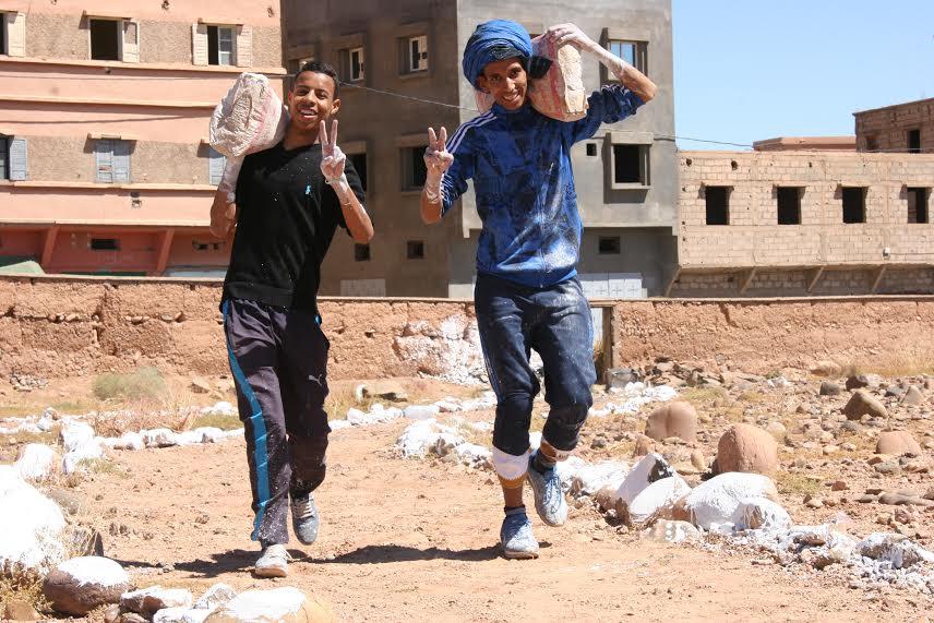 123متطوع يشاركون في تنظيف مقابر زاوية البركة- 7
