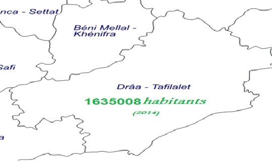 la region de Draa Tafilalet