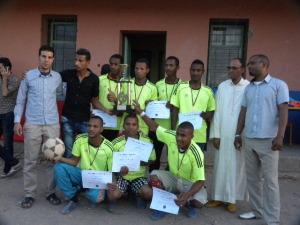 اختتام دوري كرة القدم المصغرة بثانوية تغبالت-2