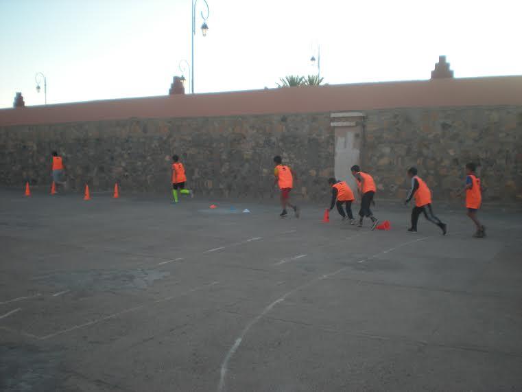 انطلاق تداريب مدرسة كرة القدم بزاكورة -1