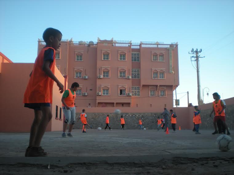 انطلاق تداريب مدرسة كرة القدم بزاكورة -2
