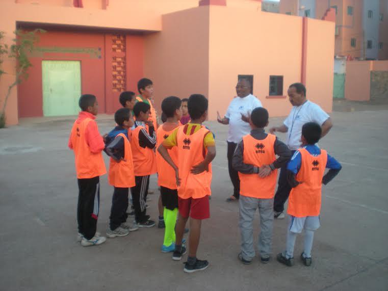 انطلاق تداريب مدرسة كرة القدم بزاكورة -4