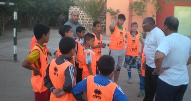 انطلاق تداريب مدرسة كرة القدم بزاكورة -5