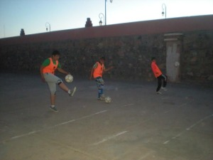 انطلاق تداريب مدرسة كرة القدم بزاكورة -6