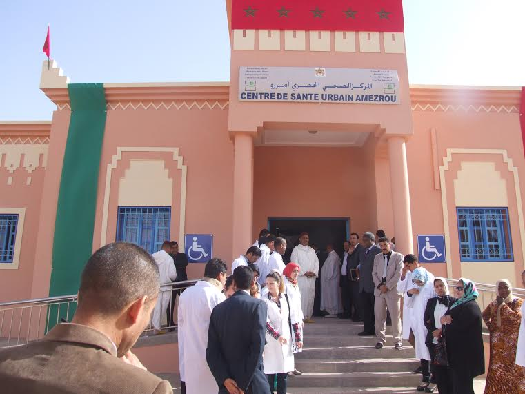 Inaugure du centre de sante a Amzrou-1