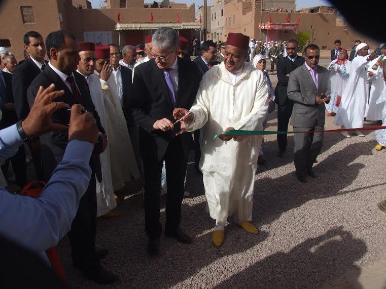 Inaugure du centre de sante a Amzrou