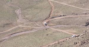 اعداد دراسة  انجاز الطريق الاقليمية رقم 1524 الرابطة بين زاكورة وتنغير في طور الانجاز