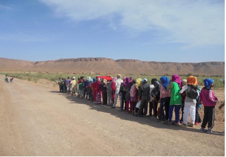 احتفال مجموعة مدارس بني سمكين  بالأسبوع الوطني للصحة  المدرسية