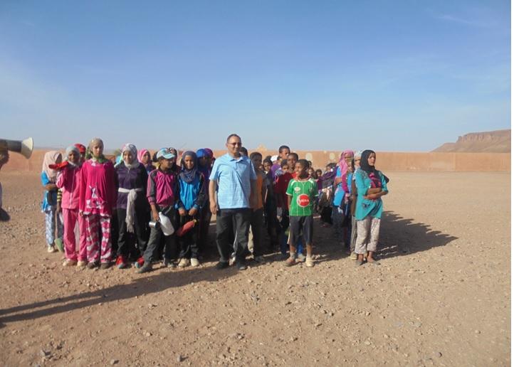 احتفال مجموعة مدارس بني سمكين  بالأسبوع الوطني للصحة  المدرسية 1