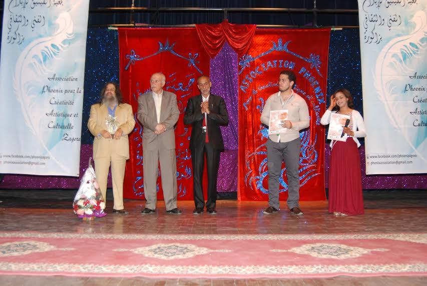 اختتام فعاليات ملتقى زاكورة الدولي للمسرح-2