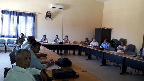 الملتقى الإقليمي السنوي لجماعات الممارسات المهنية حول مشروع المؤسسة -1