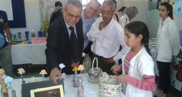 ثانوية عبد الرحيم بوعبيد الاعدادية بورزازات -1