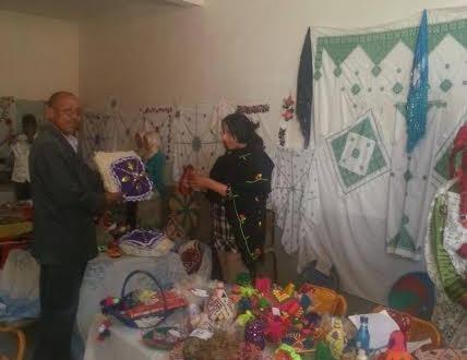 جمعية نساء أولاد عثمان تخلق الحدث في معرض للمنتوجات المحلية