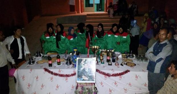 فريق دار الطالبة تازارين يحظى باستقبال جماهيري عند عودته باللقب الوطني من أكادير2