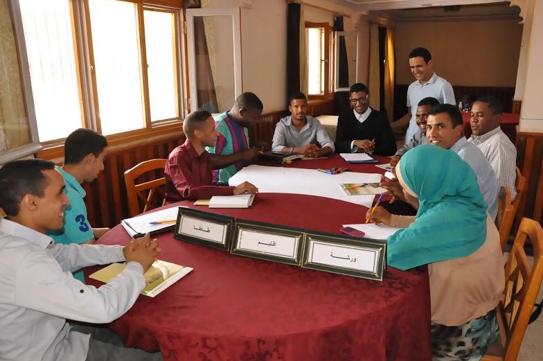 فعاليات المجتمع المدني والمؤسسات تعمل معا على بحث مسألة الموارد المائية بالوسط الواحي 2