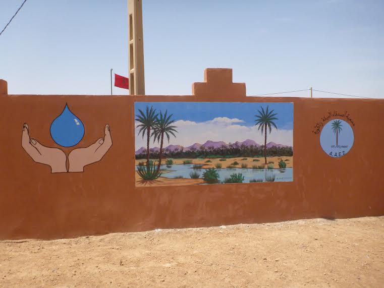 قافلة بيئية لفائدة تلاميذة المؤسسات التعليمية بزاكورة حول ترشيد استعمال الماء-2