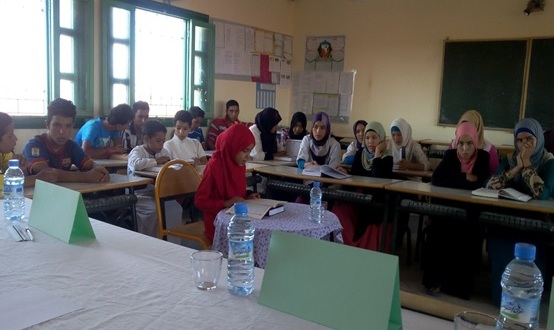 مسابقة في تجويد القرآن الكريم -2