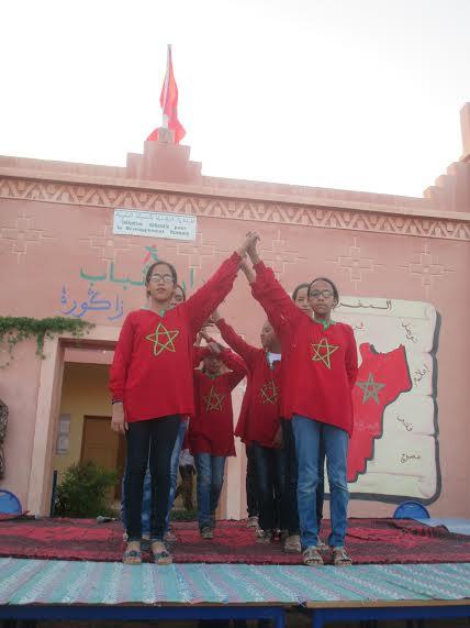 جمعية النخلة للتربية والثقافة ببني زولي تبدع وتتألق كعادتها