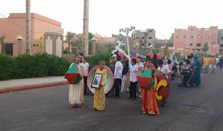 جمعية كشافة المغرب ومؤسسة القبس -1